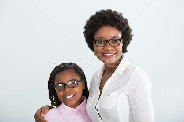 Stock photo: Portrait Of A Daughter And Mother
