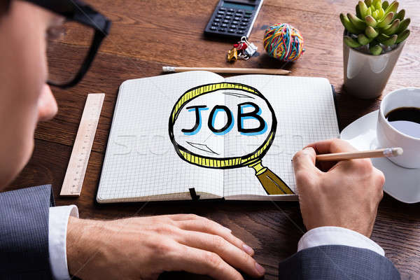 Job Search And Hiring Concept Stock photo © AndreyPopov
