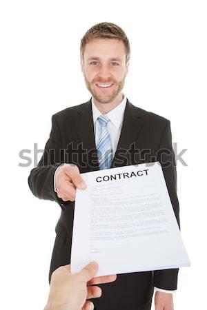 Stock photo: Portrait Of Mature Businessman