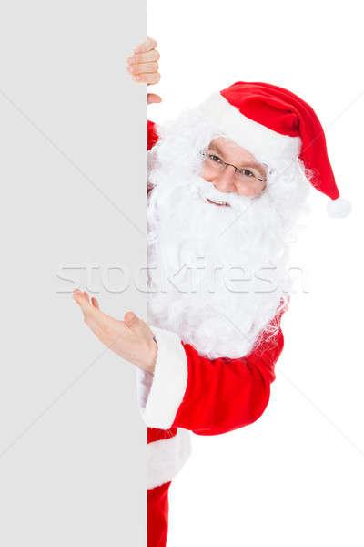 Portret Święty mikołaj biały człowiek Zdjęcia stock © AndreyPopov