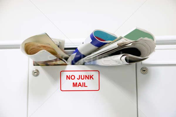 Overloaded Mailbox Stock photo © AndreyPopov