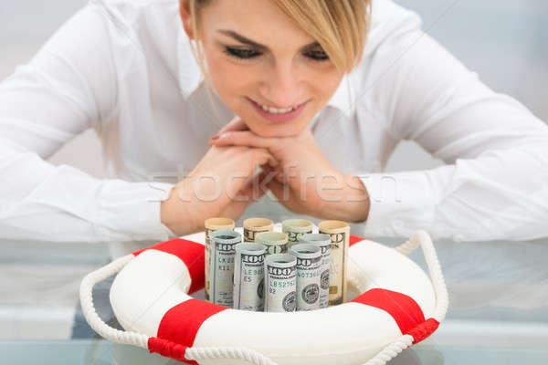 女性実業家 クローズアップ ドル ビジネス ストックフォト © AndreyPopov