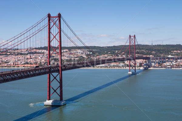 25 ponte fiume Lisbona Portogallo Europa Foto d'archivio © AndreyPopov