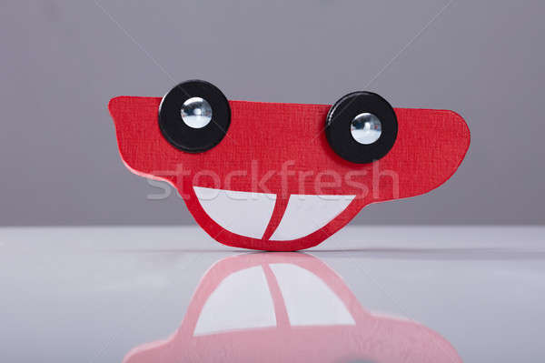 Close-up Of A Red Car Stock photo © AndreyPopov