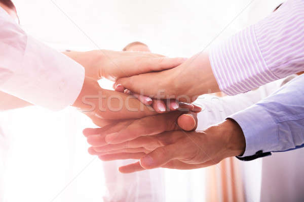 Mãos negócio escritório mão Foto stock © AndreyPopov