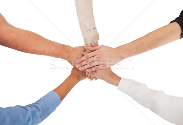 People Stacking Hands Together Stock photo © AndreyPopov