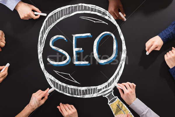 SEO Search Engine Optimization Concept Stock photo © AndreyPopov