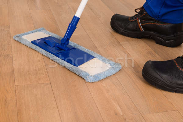 Janitor Mopping Stock photo © AndreyPopov