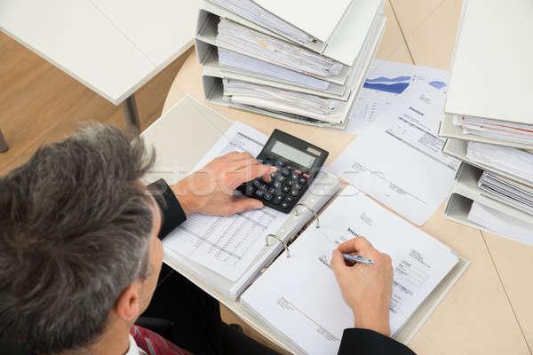 Сток-фото: бизнесмен · мнение · служба · бизнеса