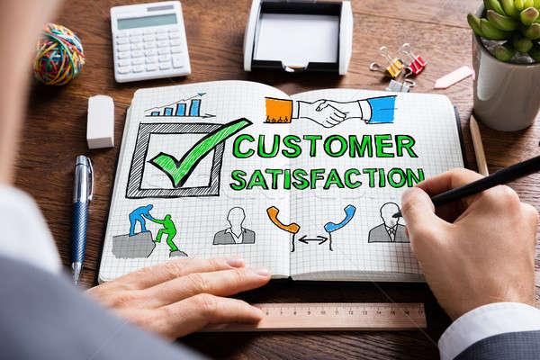 Customer Satisfaction Survey Concept Stock photo © AndreyPopov