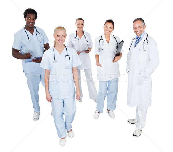 Portrait Of Happy Multiethnic Medical Team Stock photo © AndreyPopov