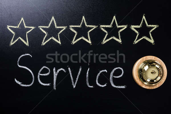 Close-up Of Five Star Service Concept Stock photo © AndreyPopov