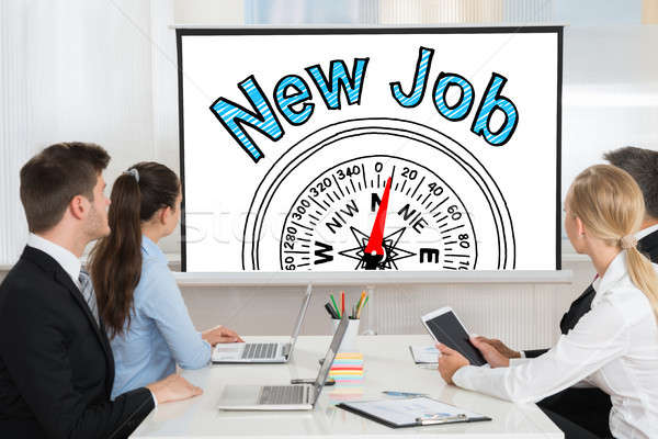New Job Employment Concept Stock photo © AndreyPopov