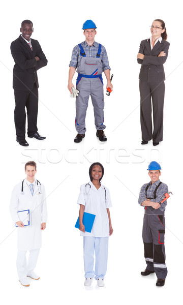 Multiethnic People With Diverse Occupations Stock photo © AndreyPopov