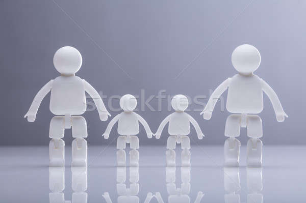 Close-up Of Family Human Figures Stock photo © AndreyPopov