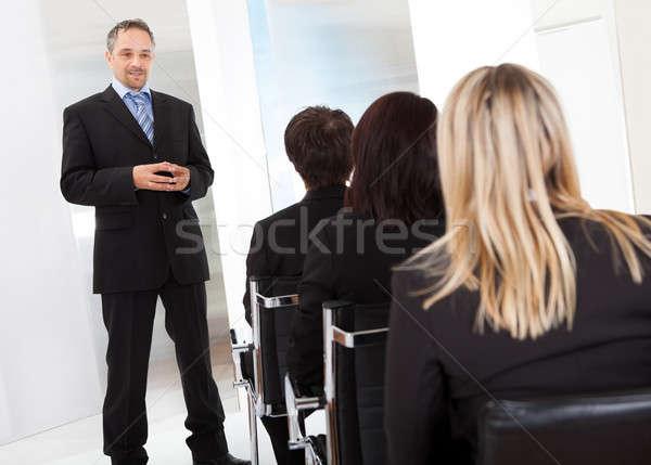 Сток-фото: группа · деловые · люди · лекция · успешный · служба · женщины
