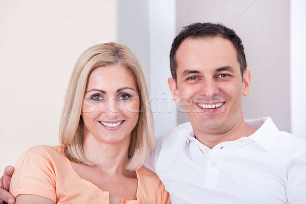 Mid-adult Happy Couple Smiling Together Stock photo © AndreyPopov