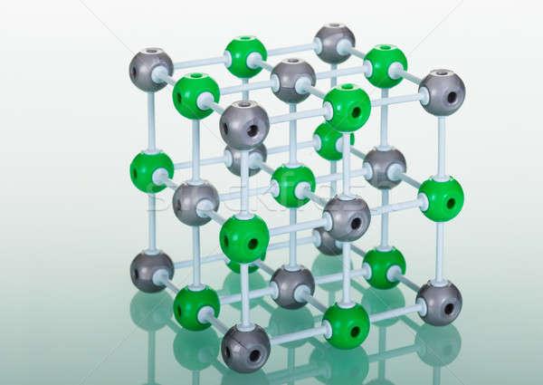 モデル 分子の 構造 緑 技術 ストックフォト © AndreyPopov