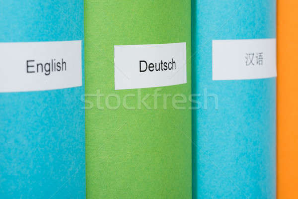 Foreign Language Books Stock photo © AndreyPopov
