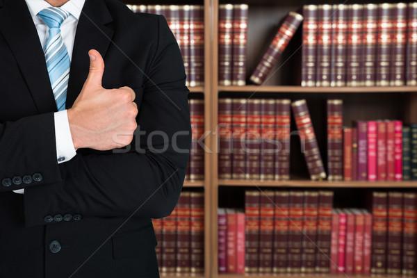 Avvocato libri ufficio Foto d'archivio © AndreyPopov