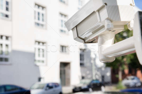 Security Camera Outside The Building Stock photo © AndreyPopov