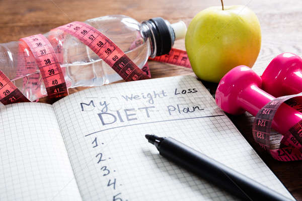 Weight Loss Concept Stock photo © AndreyPopov