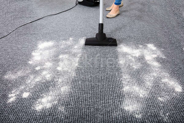 Vacuum Cleaner Cleaning Carpet Stock photo © AndreyPopov