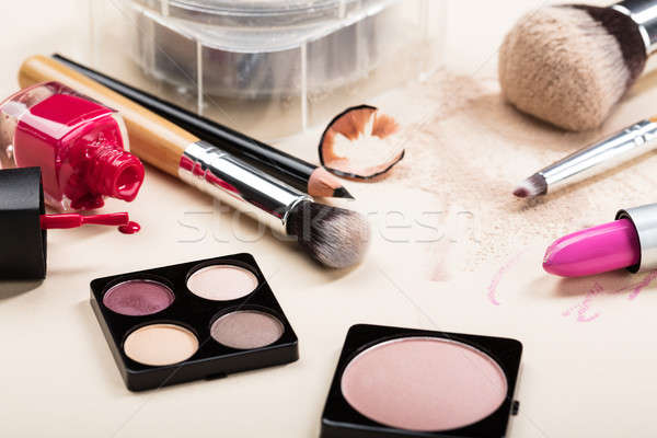 Different Type Of Makeup Products Stock photo © AndreyPopov