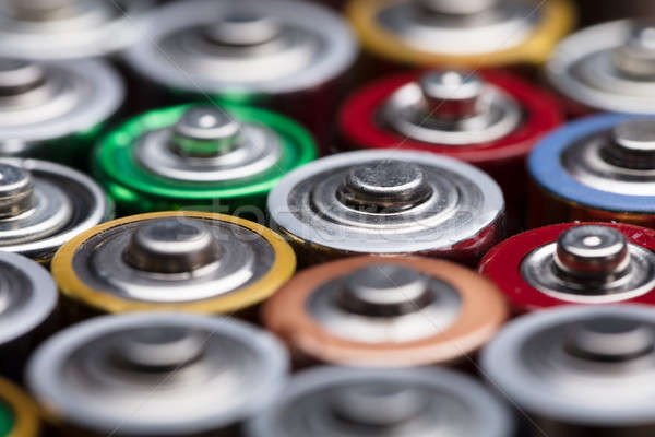 Different Type Of Used Batteries Stock photo © AndreyPopov