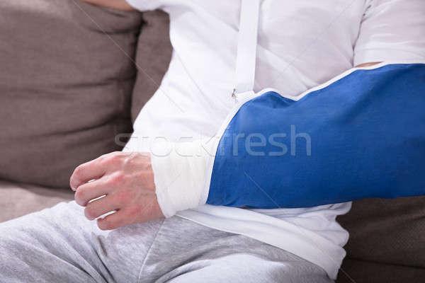 Fractured Man's Hand Stock photo © AndreyPopov