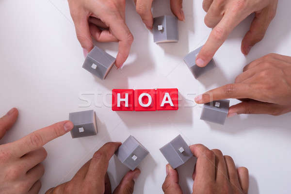 Homeowner Association Blocks Stock photo © AndreyPopov