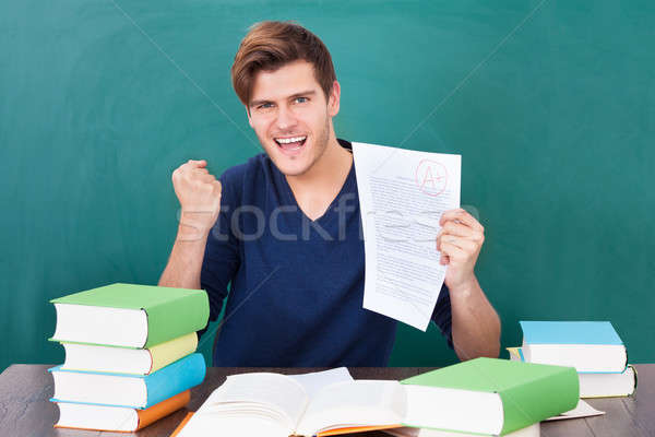Stock photo: Portrait Of A Successful Student