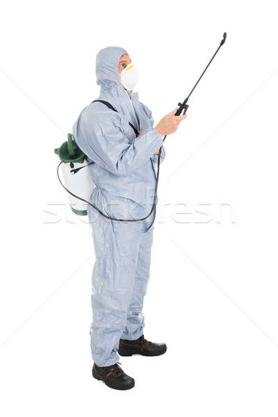 Pest Control Worker In Protective Workwear Stock photo © AndreyPopov