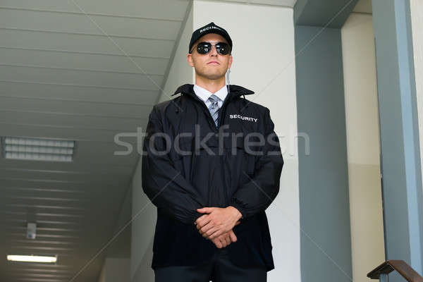 Confident Security Guard Stock photo © AndreyPopov