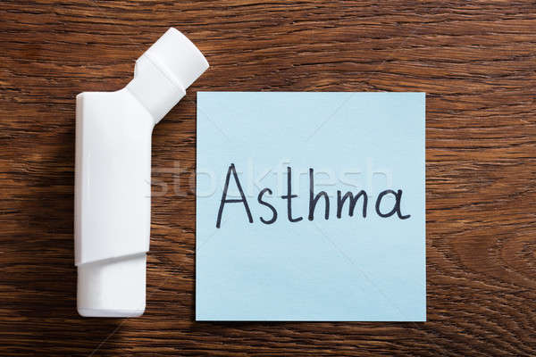 Medical Concept Of Asthma Stock photo © AndreyPopov