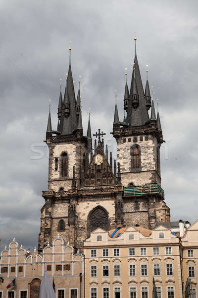 Gothic Tyn Church Stock photo © AndreyPopov