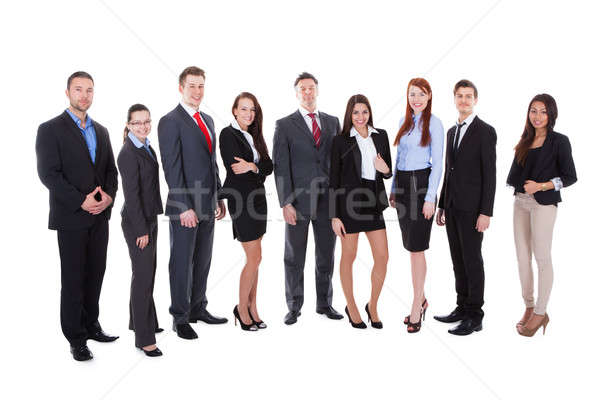 Large group of business people Stock photo © AndreyPopov