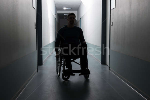 Disabled Man In Hospital Stock photo © AndreyPopov