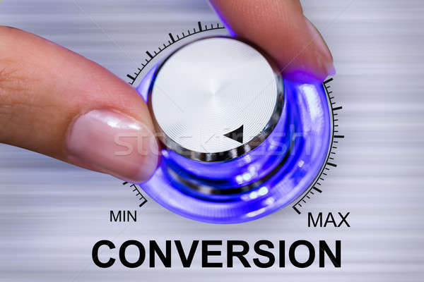 Person Adjusting Conversion Stock photo © AndreyPopov