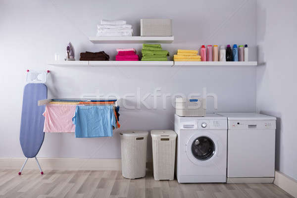 Interior Of Utility Room Stock photo © AndreyPopov
