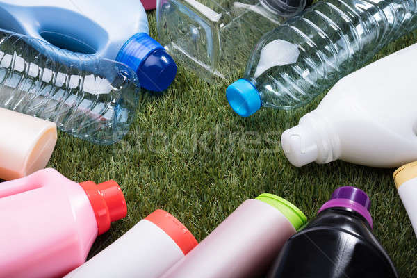 Various Types Of Plastic Water Bottle Stock photo © AndreyPopov