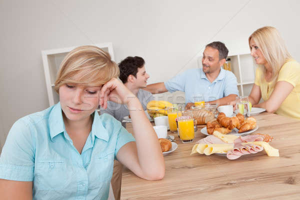 Excluded from the family circle Stock photo © AndreyPopov
