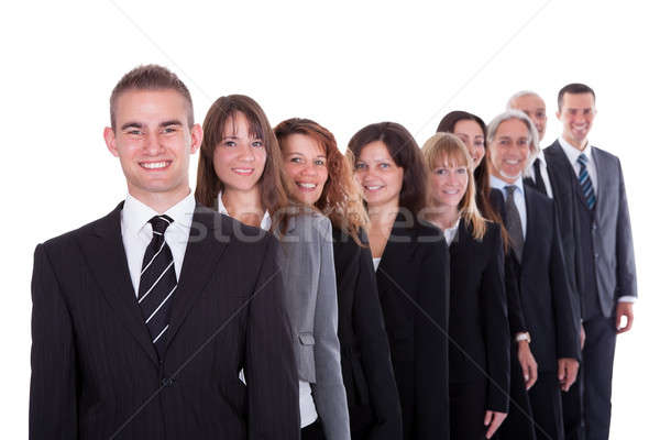 Group of confident business people Stock photo © AndreyPopov