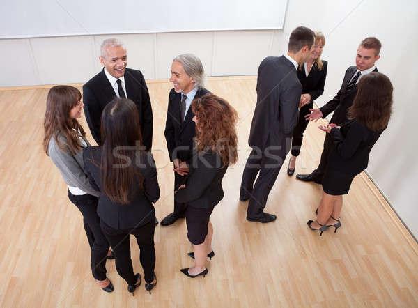 Gente de negocios vista profesional pie Foto stock © AndreyPopov