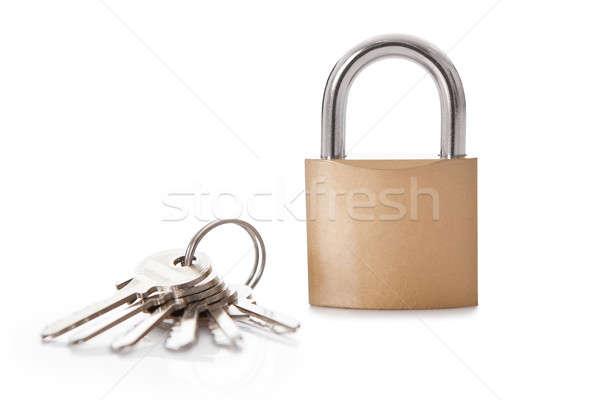 Lock and set of keys Stock photo © AndreyPopov