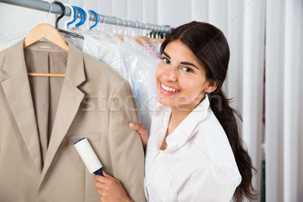 クリーナー 洗濯 ショップ 接着剤 女性 服 ストックフォト © AndreyPopov