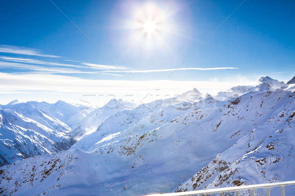 Mountains Of Otztal Alps Stock photo © AndreyPopov