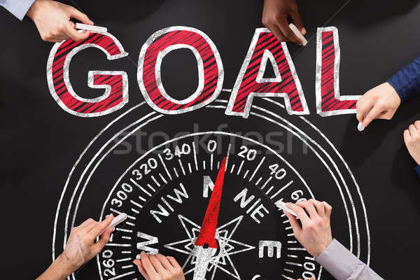 Compass Goal Guidance Concept Stock photo © AndreyPopov