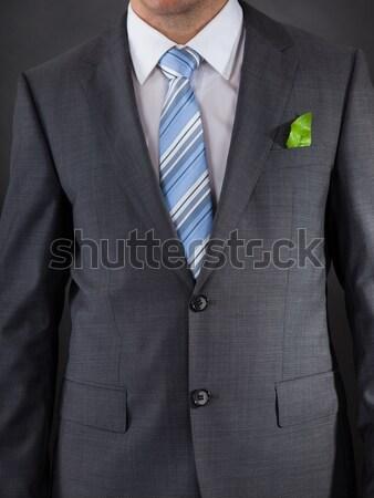 Affaires costume clé à molette poche affaires Photo stock © AndreyPopov