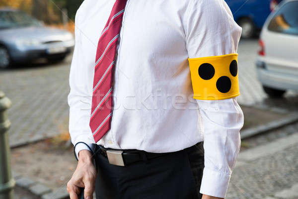 Blind Person Wearing Armband Stock photo © AndreyPopov